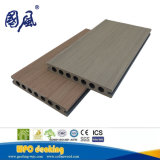 Panneau de plastique en bois de Decking du composé WPC de coextrusion imperméable à l'eau