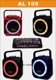 무선 마이크 FM 라디오를 가진 무선 휴대용 Bluetooth PA 오디오 스피커