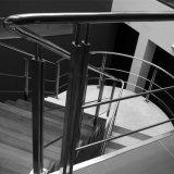 싼 가격 실내 이동할 수 있는 PVC 층계 최고 손잡이지주 스테인리스 로드 방책