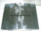 Pietra nera granito/del marmo per il monumento/lapide/memoriale/Headstone/mausoleo/la lapide/pietra tombale St002 di scultura)