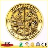 Défi de l'or en métal de haute qualité Coin