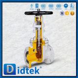 Запорная заслонка стержня фланца Didtek Wcb поднимая для рафинадного завода