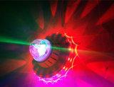 De volledige Zonnebloem die van de Kleur Levering voor doorverkoop van de Fabrikant van de LEIDENE de Lichte MiniBal van het Kristal 48PCS Magische roteren
