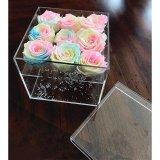 꽃을%s 아크릴 상자를 포장하는 고품질 플렉시 유리 방수 꽃