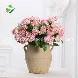 Künstliche Blumen-Rosen-Großhandelsblumenstrauß für Hochzeit