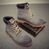 Bottes. d. Les hommes en cuir supérieur de la mode haute qualité à bas prix