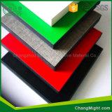 Hoja de la cocina/colores de Sunmica HPL/Formica/hoja laminada de alta presión