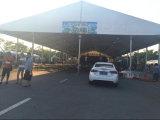 白い屋上の作業党のための屋外のおおいのイベント党テント