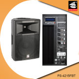 15 Zoll PROaktiver Plastiklautsprecher PS-4215fbt USB-200W Ableiter-FM Bluetooth EQ