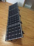 Tecido Manta Solar Camping painéis de dobragem do carregador da bateria RV Solar 120W