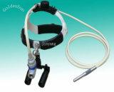 ルーペ拡大鏡が付いている外科歯科ファイバーの光学ヘッドライト