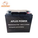 Aga scellées au plomb-acide Mf alimentation UPS batteries solaires 12V40ah