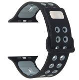 Correa para Apple Iwatch 38mm/42mm, para ver la banda de Apple la correa de silicona
