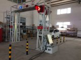 X система контроля луча груза x корабля скеннирования луча от фабрики блока развертки автомобиля