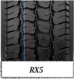 Neumático de la polimerización en cadena del Semi-Acero, neumático 195r14 185/70r14 del vehículo de pasajeros