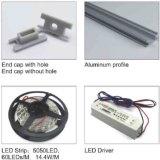 Aluminiumprofil der Leistungs-LED für LED-Streifen-Licht