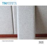 écran antibruit couvert de tissu décoratif amical de fibre de polyester de 100mm Eco pour le panneau de mur