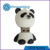 O PVC Natal Flash Memory Stick USB para a promoção