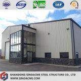 Prefab мастерская стальной структуры с офисом