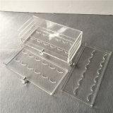 Type de tiroir support acrylique de caisse de cil pour 45 paires