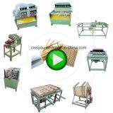 Palillo de madera de bambú automático Bastón Chopstick hacer máquina de producción