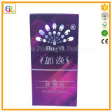Imballaggio cosmetico impresso marchio di lusso su ordinazione