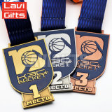 Het de goedkope Medaille of Medaillon van het Ontwerp van de Douane van de Sport van het Metaal van de Herinnering van de Toekenning