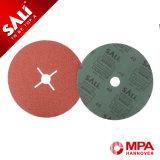 Óxido de alumínio de qualidade razoável de Disco de lixa com vários Grits