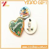 Insignes estampés ronds faits sur commande de bouton de Pin pour le cadeau de promotion (YB-BT-01)