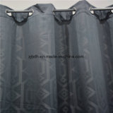 Наиболее популярные геометрической жаккард полиэстер горячая продажа окно с одной спальней шторки ткань