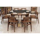 使用されたホテルの家具Restauantのための現代簡単な木のダイニングテーブル