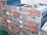 7mm schraubten kupfernes Gefäß-Aluminiumflosse-Kondensator