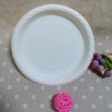 Майцена 9 дюймов Biodegradable и плита багассы, устранимая плита обеда
