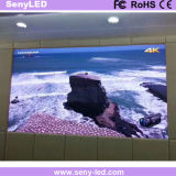 Pared video de interior llena de HD LED para el uso fijo de la etapa