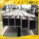 Perfil de aluminio de abastecimiento de la puerta deslizante de la protuberancia del fabricante de aluminio del perfil