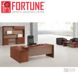 암갈색 멜라민 행정상 테이블 현대 사무실 책상 (FOH-AM3521-A)