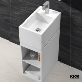 Meubles de salle de bains Kingkonree acrylique Mat Surface solide bassin autostable (180312)