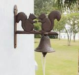 Decoración del jardín de la decoración de la pared de Bell del arrabio