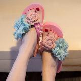 Banheira de venda de saltos altos de moda feminina da sapata EVA Piscina Piscina Hotel Beach Flip-flop pantufas