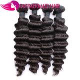 O Weave cambojano do cabelo empacota extensões profundas do cabelo humano da onda