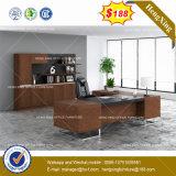 Qualitäts-hölzernes Melamin-L-förmiger Büro-Schreibtisch (HX-8NE019)