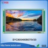 """7""""Résolution HD TFT 800*480 l'écran LCD couleur de la Chine"""