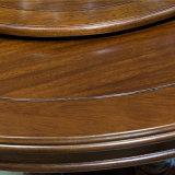 2017 Dernière conception Table à manger ronde en bois massif (comme l836)