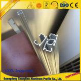 Extrued perfila el aluminio para el carril del aluminio del carril del guardarropa