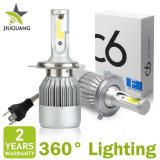 Super heller 12V Selbstscheinwerfer des auto-LED, H4 H7 H13 H11 9004 9005 hallo Scheinwerfer-Birne des Lo Träger-C6 des Auto-LED