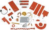 Elemento de aquecimento flexível elétrico do calefator do cilindro do calefator da borracha de silicone