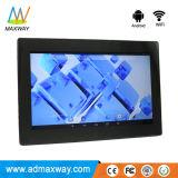 Plástico 10,1 polegadas WiFi Android moldura fotográfica digital com a estação meteorológica (MW-1026WDPF)