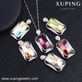 32606 Xuping Form-Schmucksache-Ketten-Halskette, grosse Kristalle Swarovski vom fantastischen Anhänger für Frauen