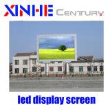Gabinete de alumínio Die-Casting Visor LED de exterior P3.91 SMD Painel de parede de vídeo