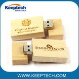 Azionamento di legno dell'istantaneo del USB del migliore regalo promozionale con il marchio 32GB dell'incisione